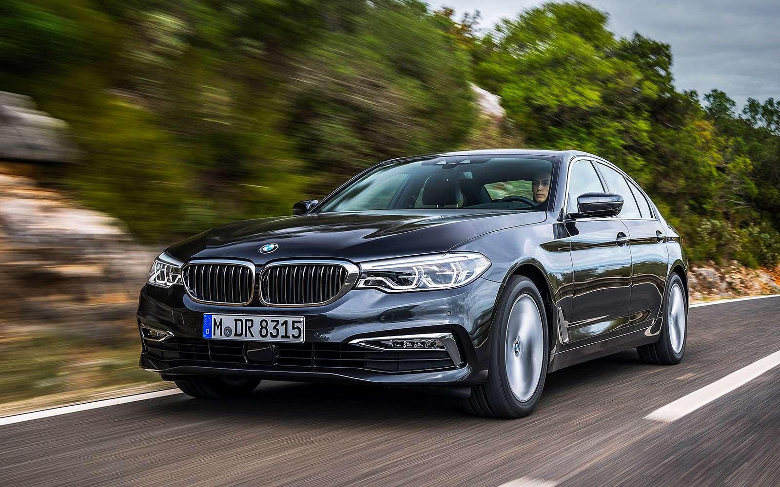 Тест новой «пятерки» BMW: большой брат— фото 685112
