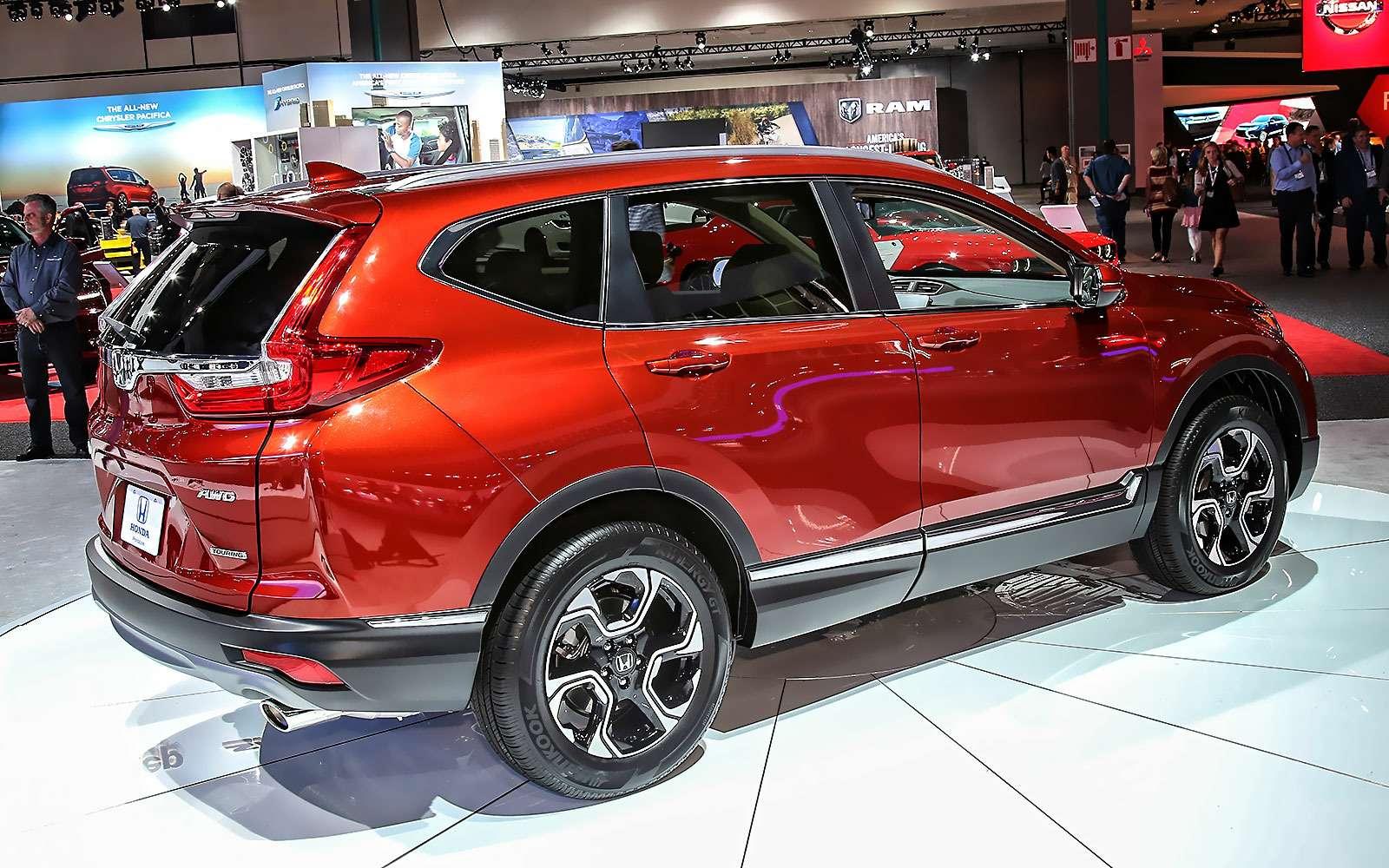 Пятый пошел: Honda представила кроссовер CR-V нового поколения— фото 665128