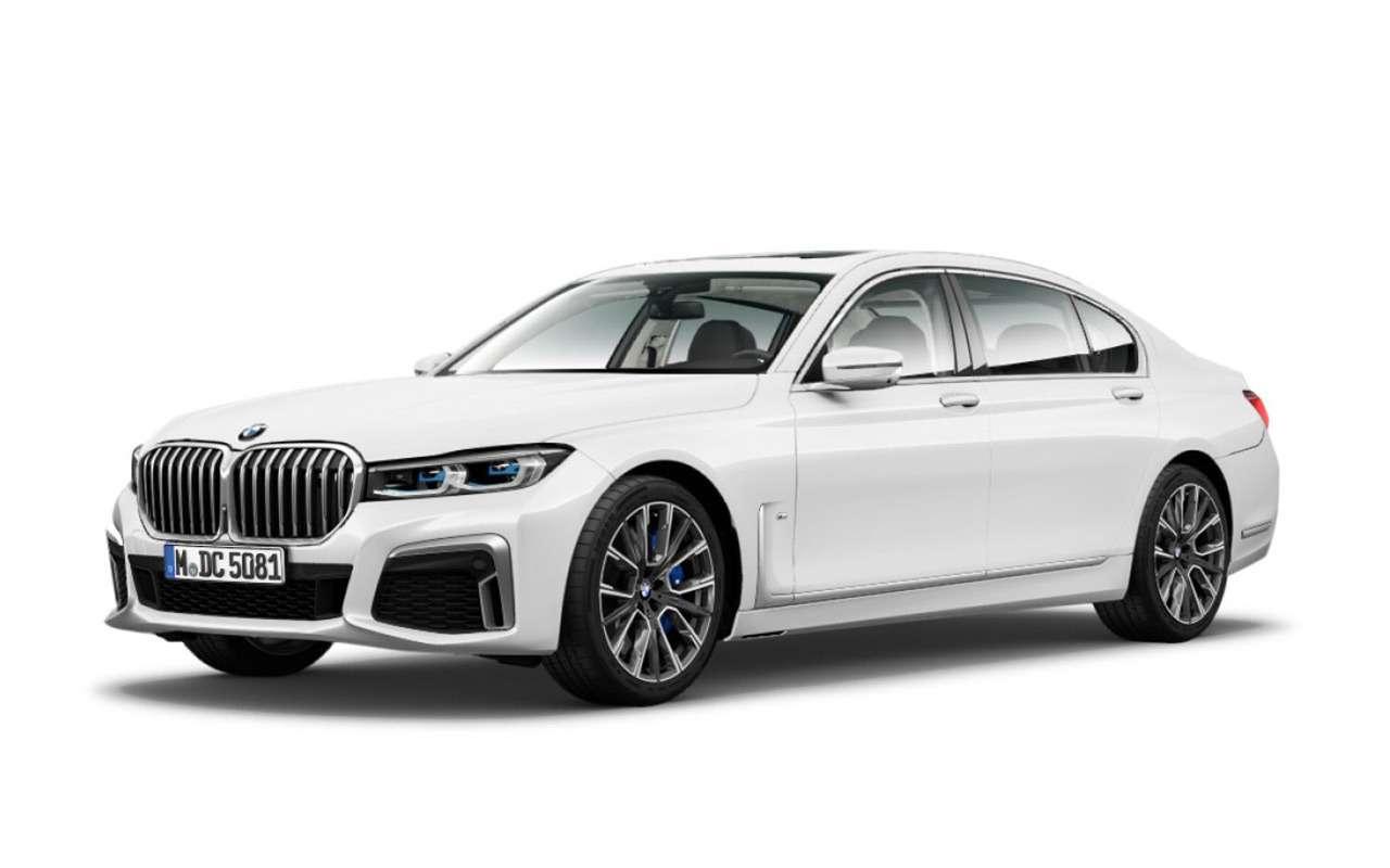 Обновленную «семерку» BMW рассекретили до премьеры — фото 938716