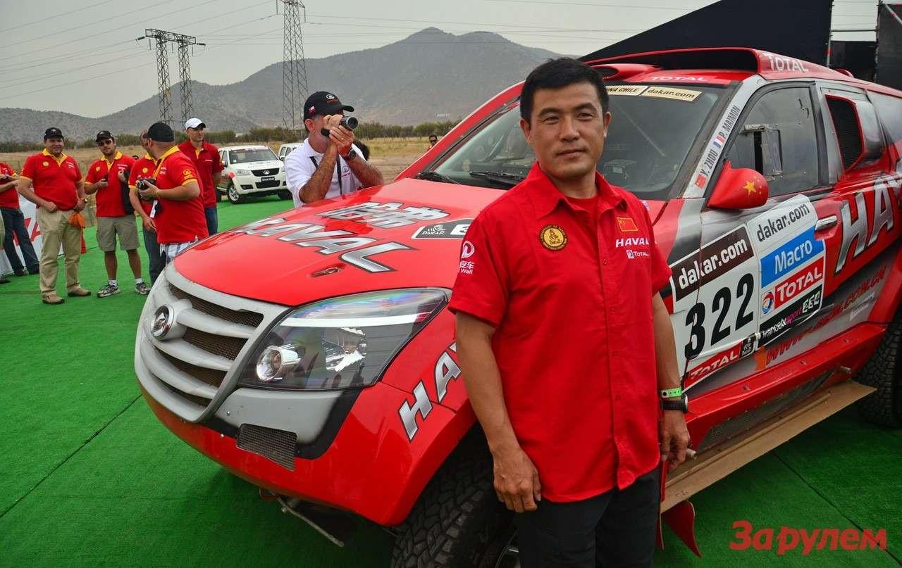 Джон Юн, один изх пилотов GW