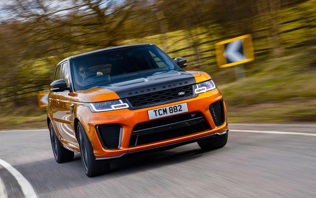 Range Rover PHEV иRange Rover Sport SVR: что общего?— фото 870410