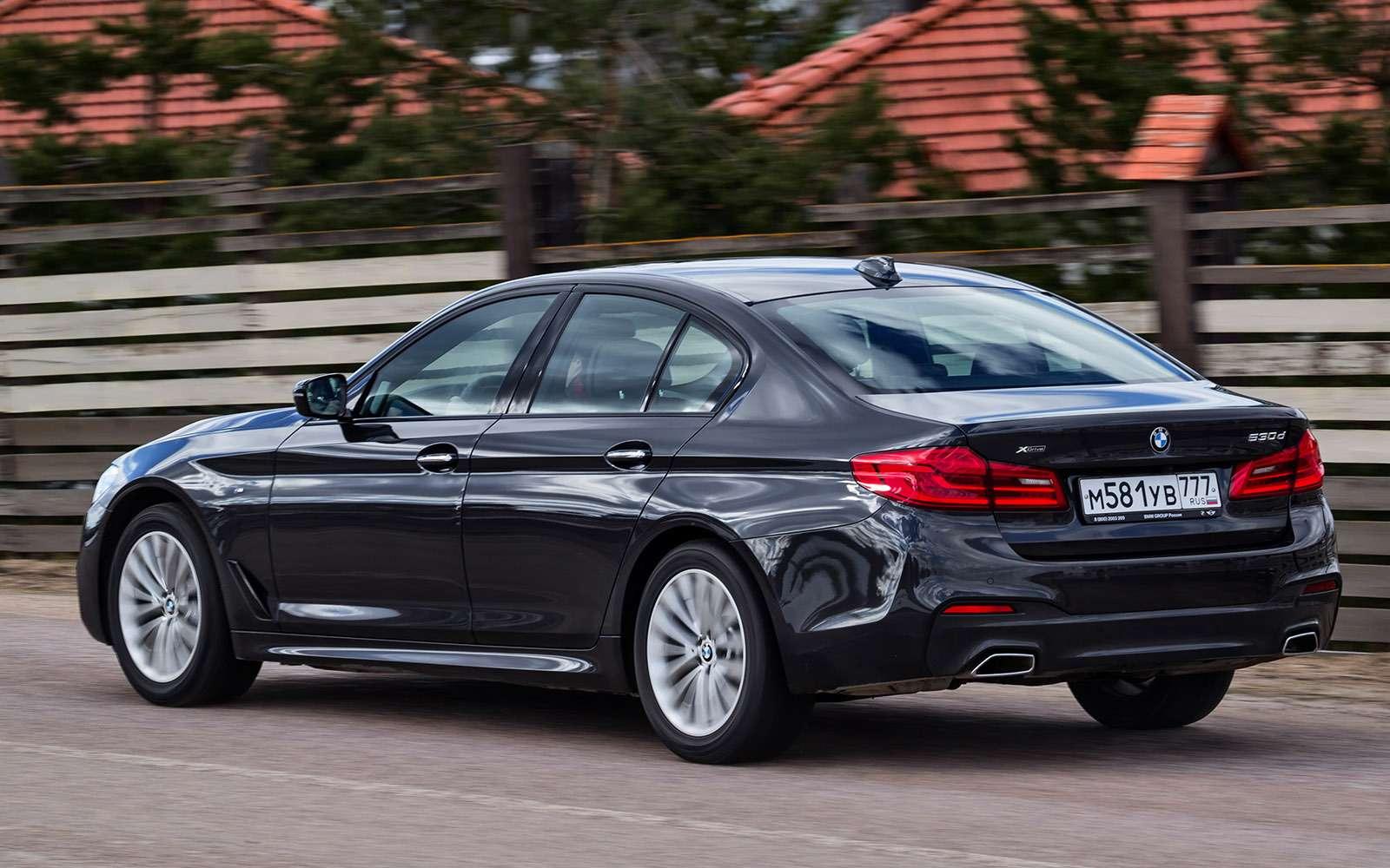 BMW5-й серии против конкурентов: кто напять?— фото 743813