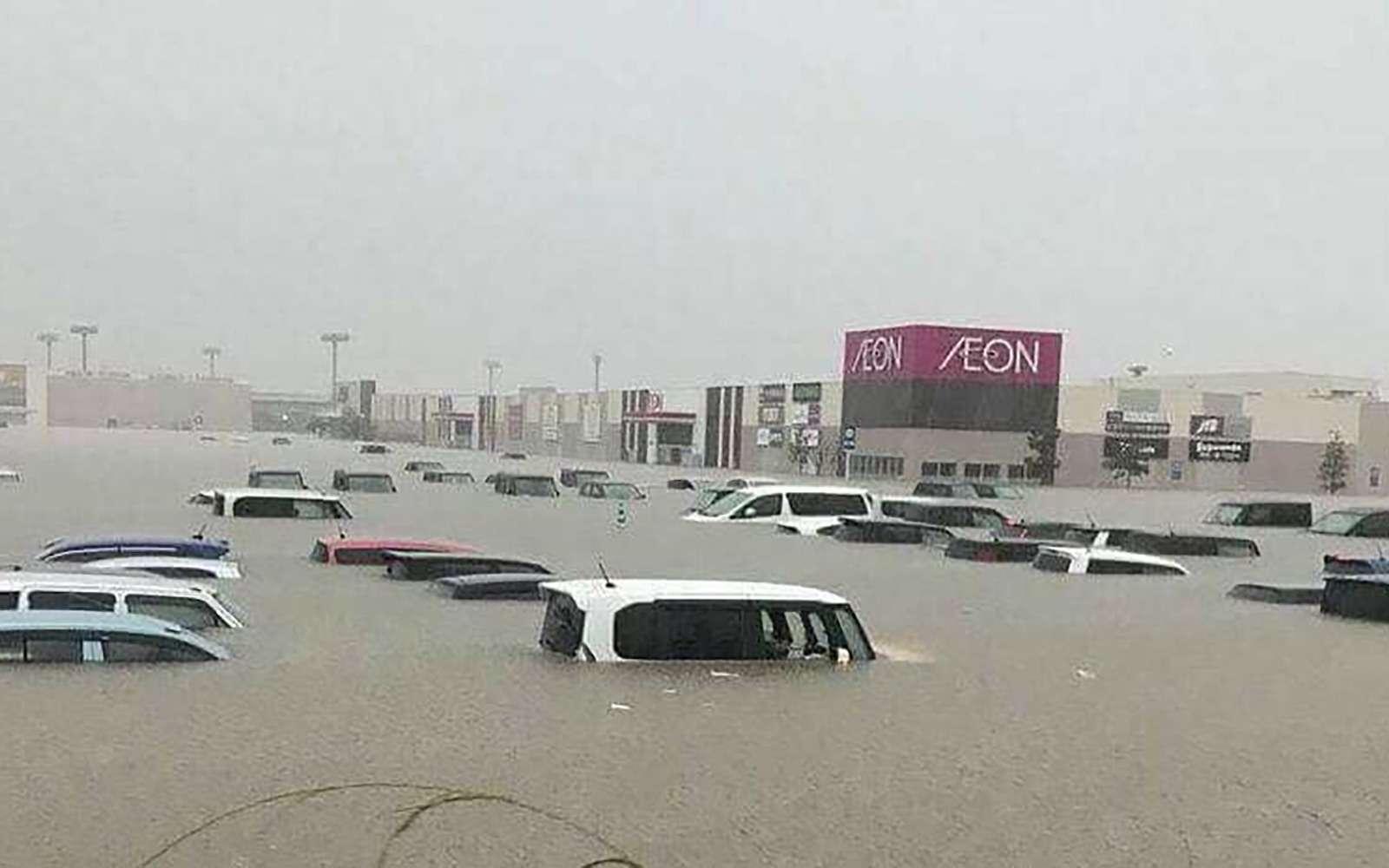Наводнение вЯпонии: тысячи утопленных машин. Ждем ихвРоссии?— фото 886647
