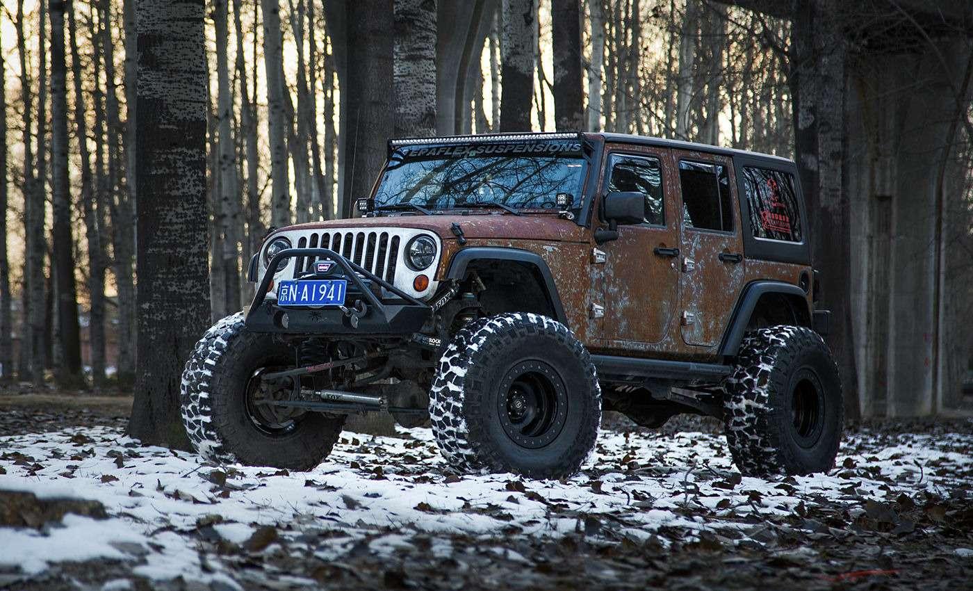 Когда коррозия— мечта: «ржавый» Jeep Wrangler отVilner