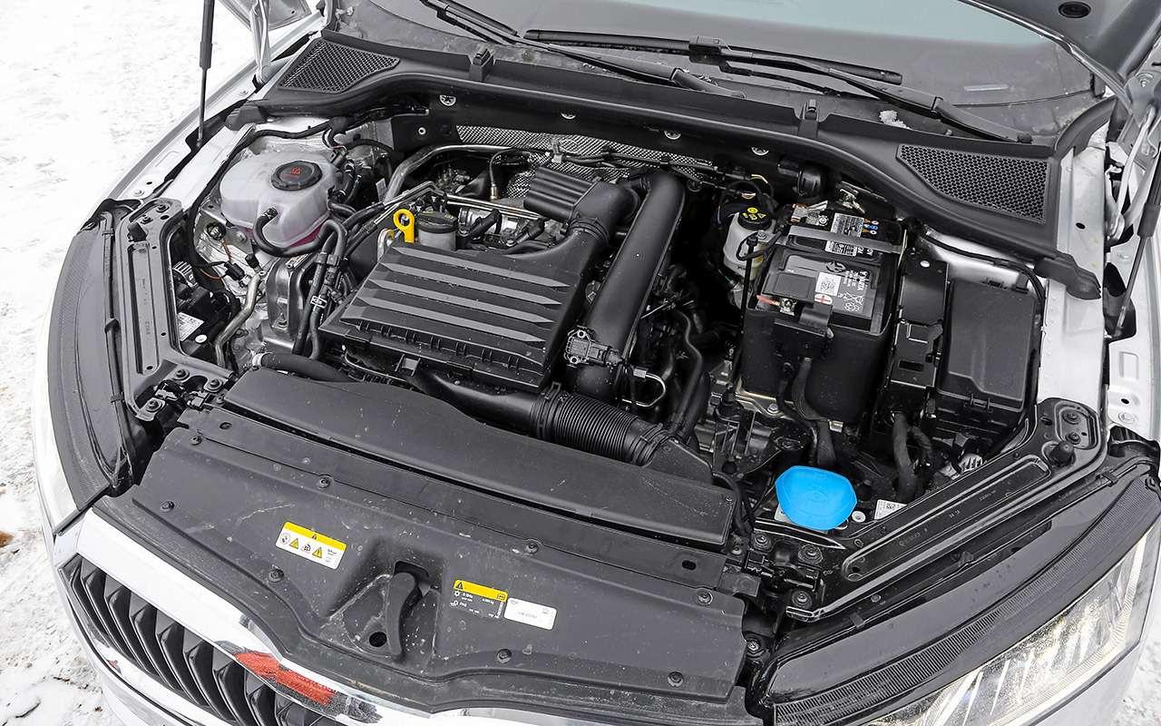 Skoda Octavia, Kia K5, Mazda 6— большой тест— фото 1221414