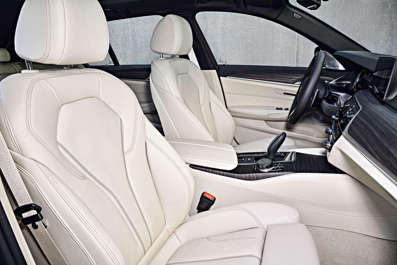 Новая «пятерка» BMW— теперь искузовом универсал— фото 701208