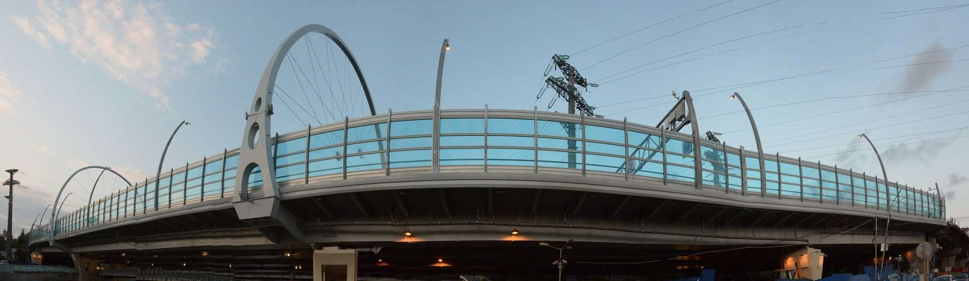 С перенагрузкой испытали новый мост встолице зимней Олимпиады. zr.ru