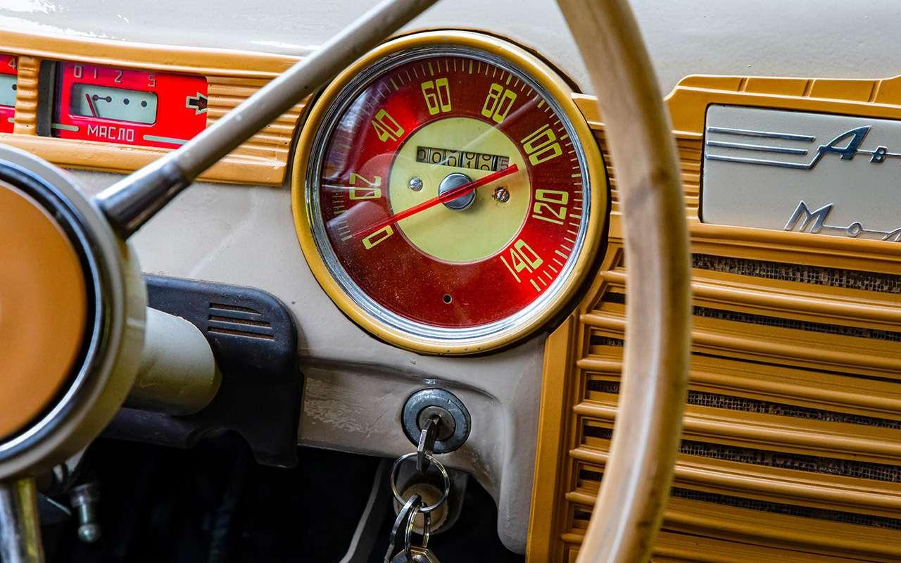 Уникальная Победа ГАЗ-М20: ретротест машины cкорой помощи— фото 1085324