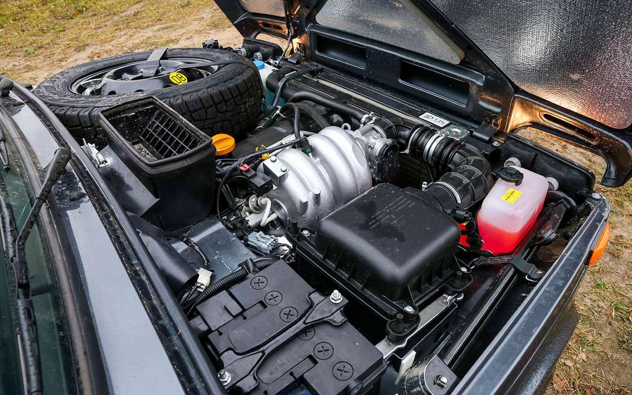Тест-драйв легенд бездорожья: Lada 4x4, Suzuki Jimny, Jeep Wrangler— фото 1089445