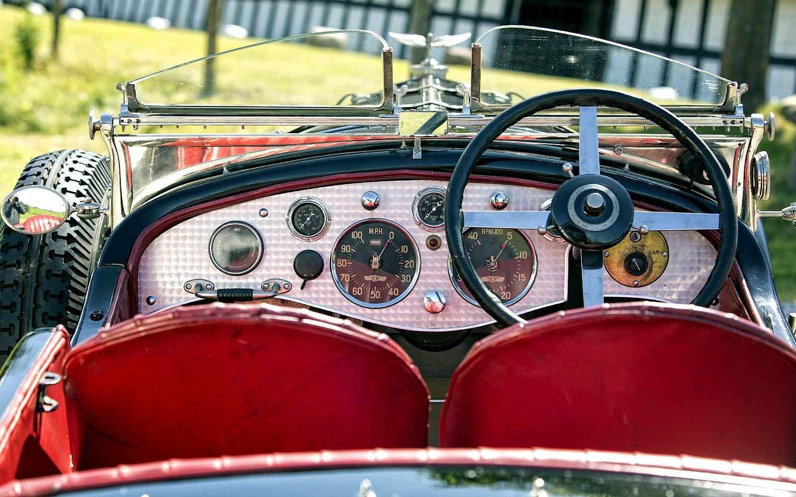 Bentley 6½ litre Roadster 1927
