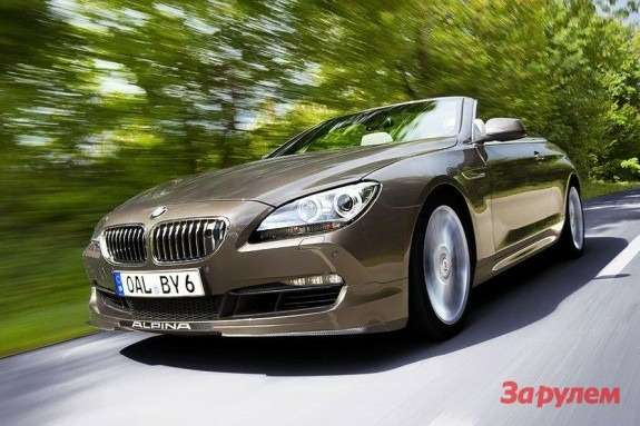 Alpina B6side-front view
