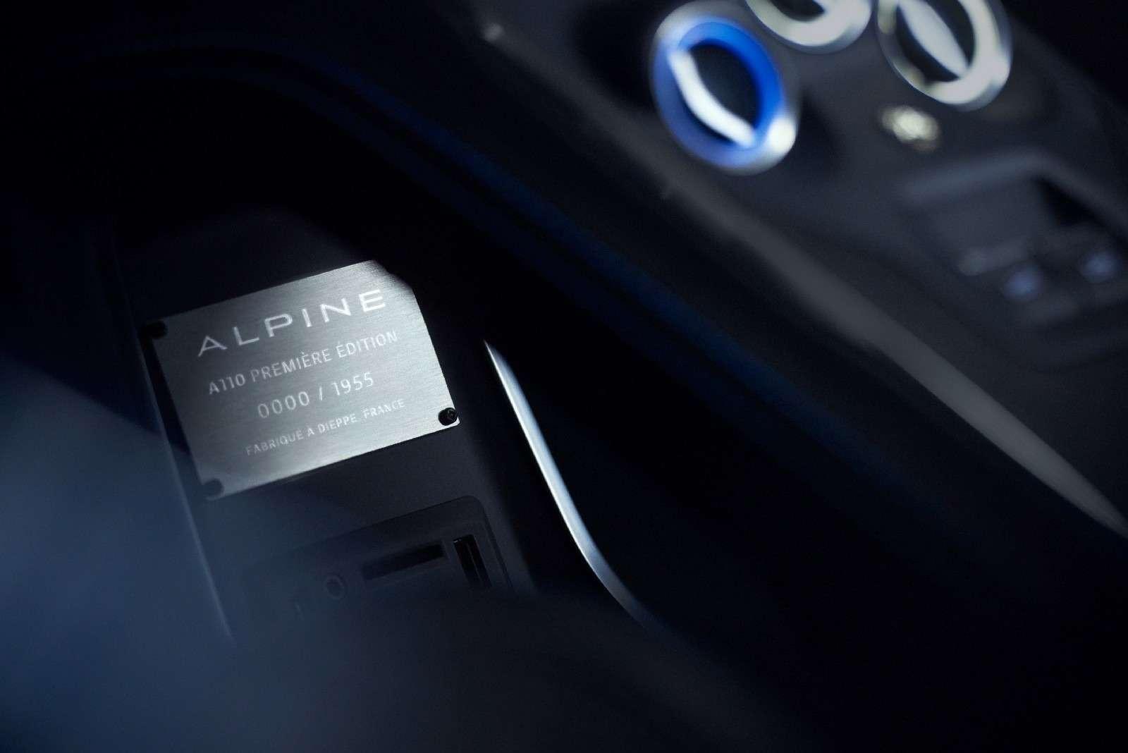 Новый Alpine A110 обошелся без донорского мотора— фото 718286