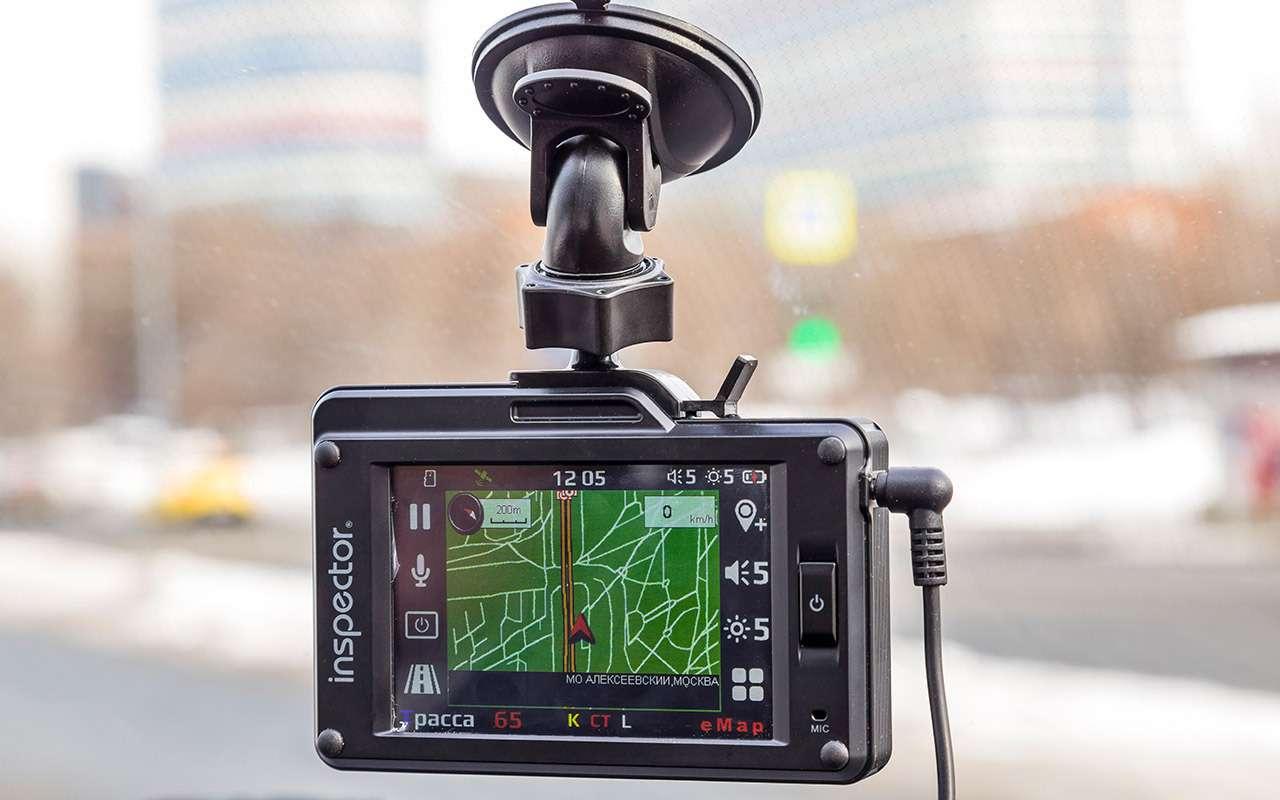 Видеорегистраторы срадар-детектором— бюджетные против дорогого— фото 862322
