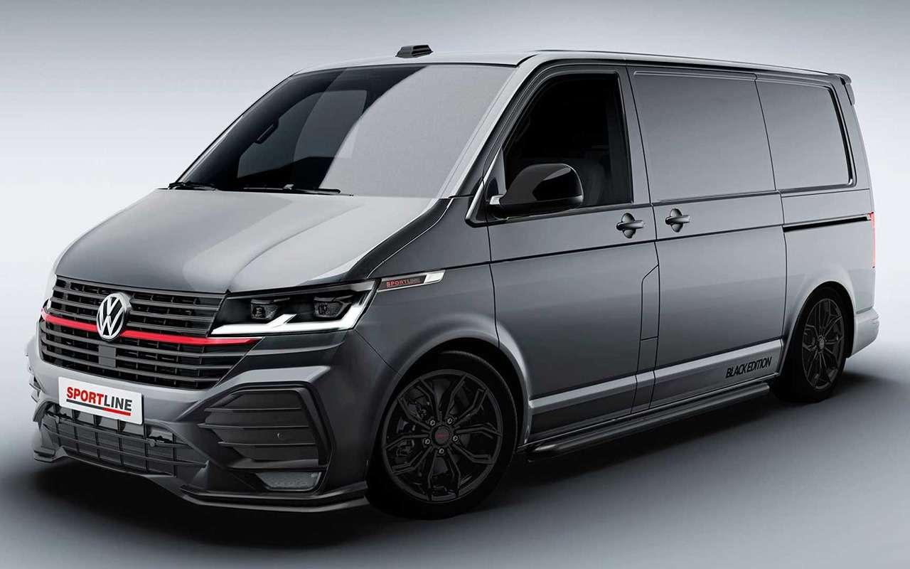 VWсделал «спортивный» иочень «спортивный» фургон— фото 1232297