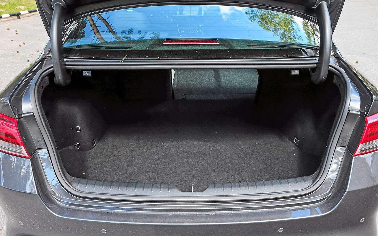 Toyota Camry против конкурентов— сравнительный тест— фото 882458