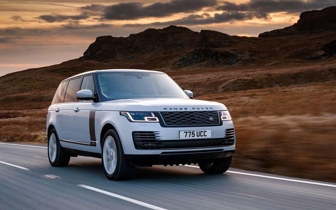 Land Rover привез вРоссию гибридный внедорожник— фото 905706