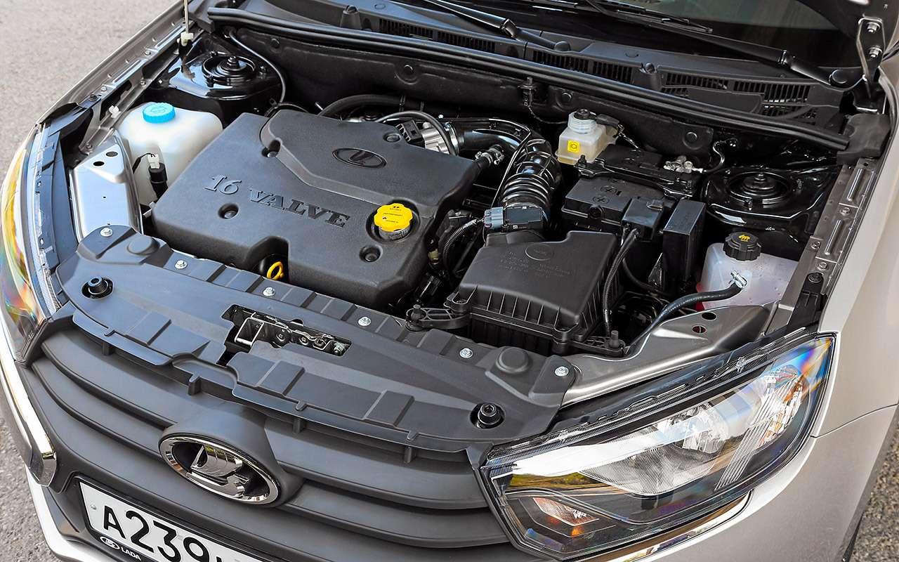 Большой тест обновленных бюджетников: Лада Гранта против Renault Logan— фото 914254