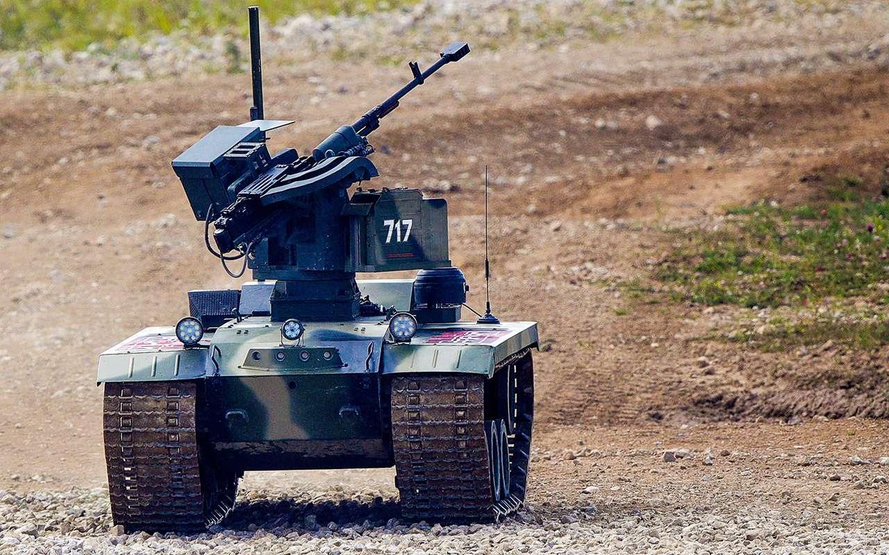 Бесконечный дозор: тест-драйв боевого робота «Нерехта»— фото 915647