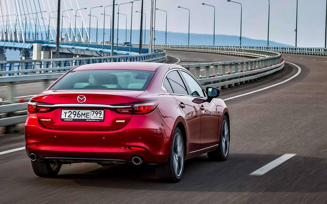 Новая Mazda 6: как она насамом деле едет— фото 950793