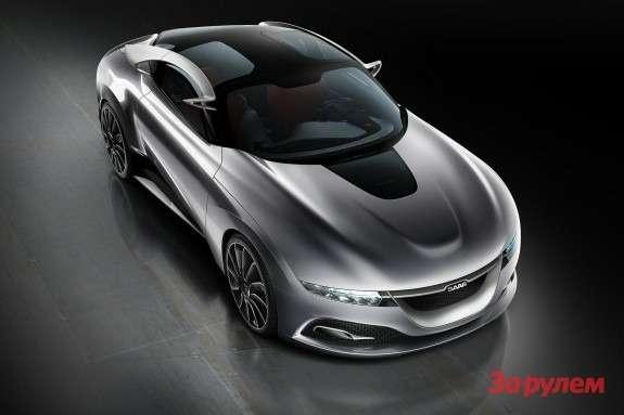 Saab PhoeniX Concept top-front view