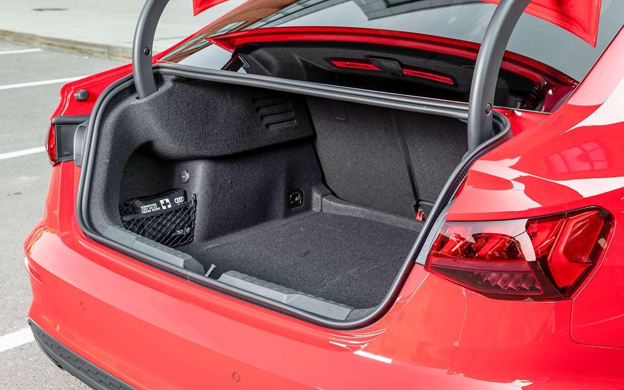 Новый Audi A3: вам седан или Sportback?— фото 1272064