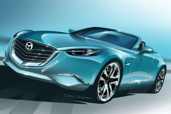 New Mazda MX-5 rendering by Autocar