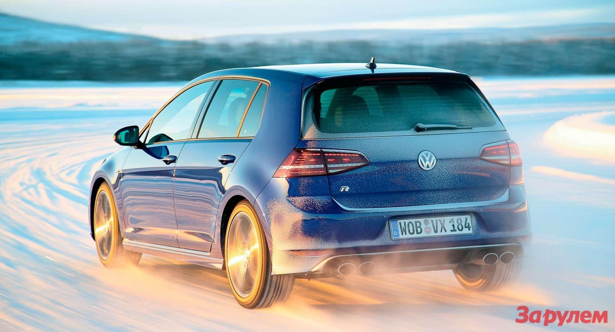 Volkswagen Golf R: изгнание козы — фото 261488