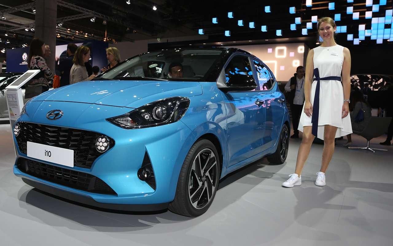 Hyundai i10 нового поколения: «мимими» вам вленту!— фото 995287