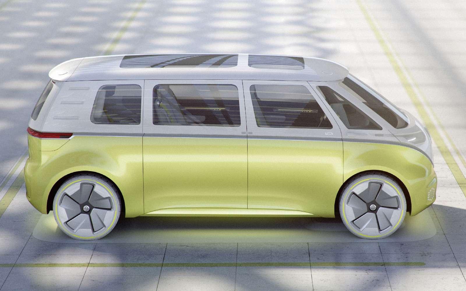 Volkswagen I.D.Buzz: между хиппи ихипстерами— фото 690410