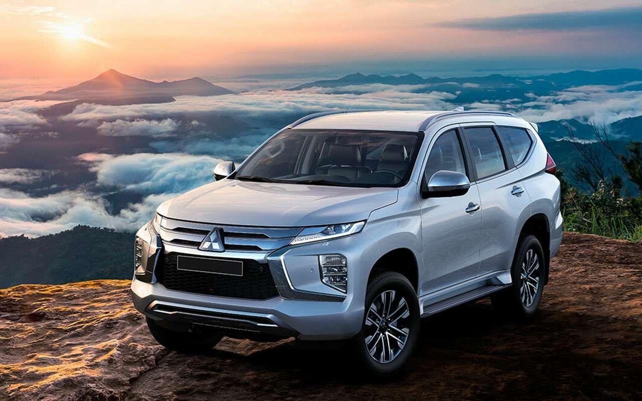 Mitsubishi везет в Россию две новинки