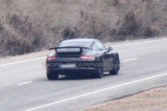 Porsche 911GT3 test prototype side-rear view 2