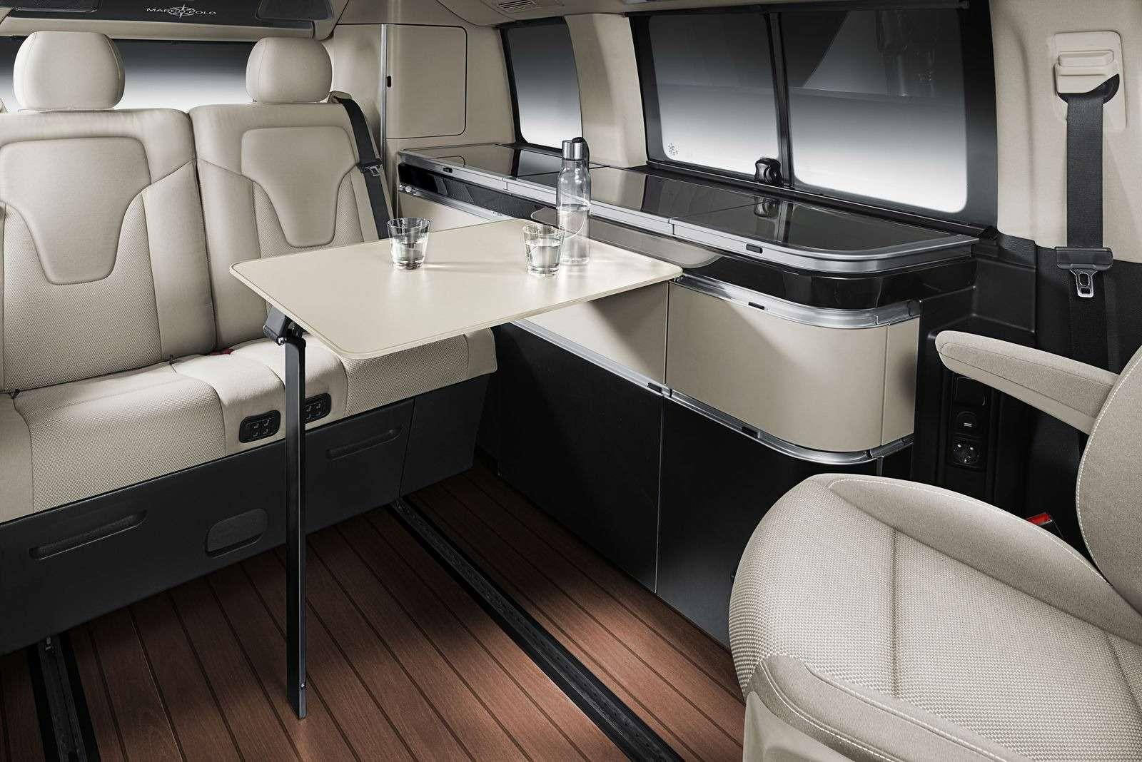 Mercedes-Benz предложил покупателям вРоссии микроавтобус дляпутешествий— фото 368339