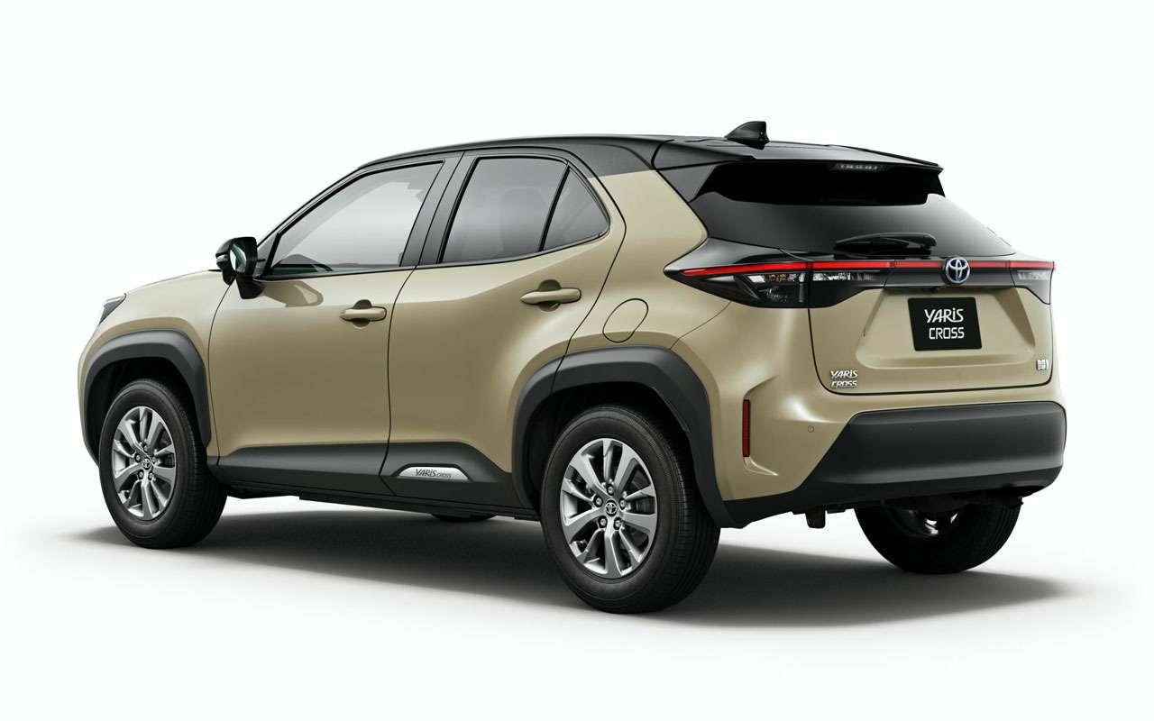Начались продажи Toyota Yaris Cross - от 1,27 млн - фото 1163702