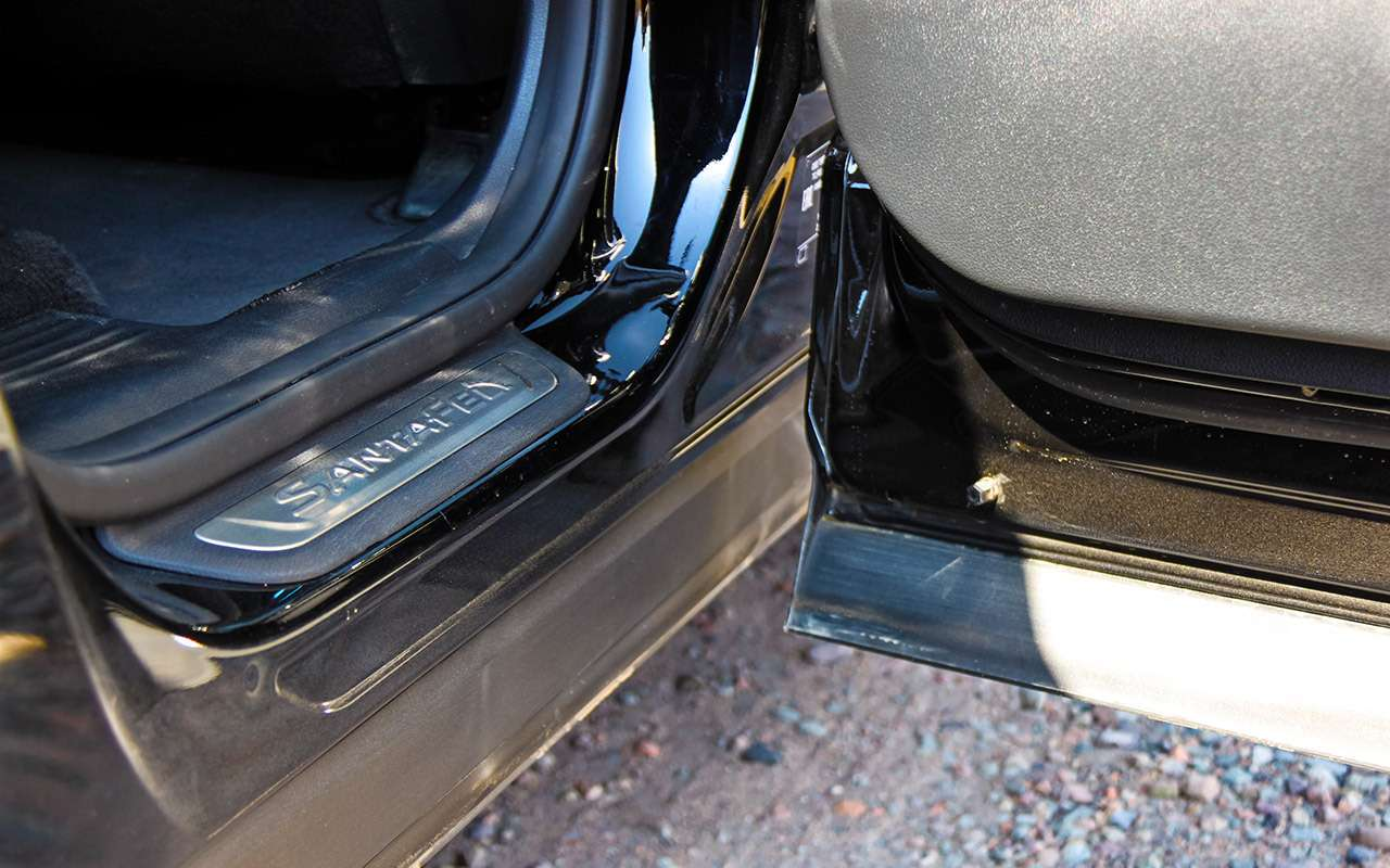Тест нового Hyundai Santa Feскрутым автопилотом— фото 920454