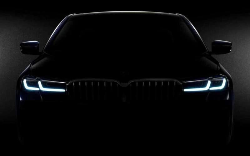 BMW 5-й серии— первое фото обновленного седана