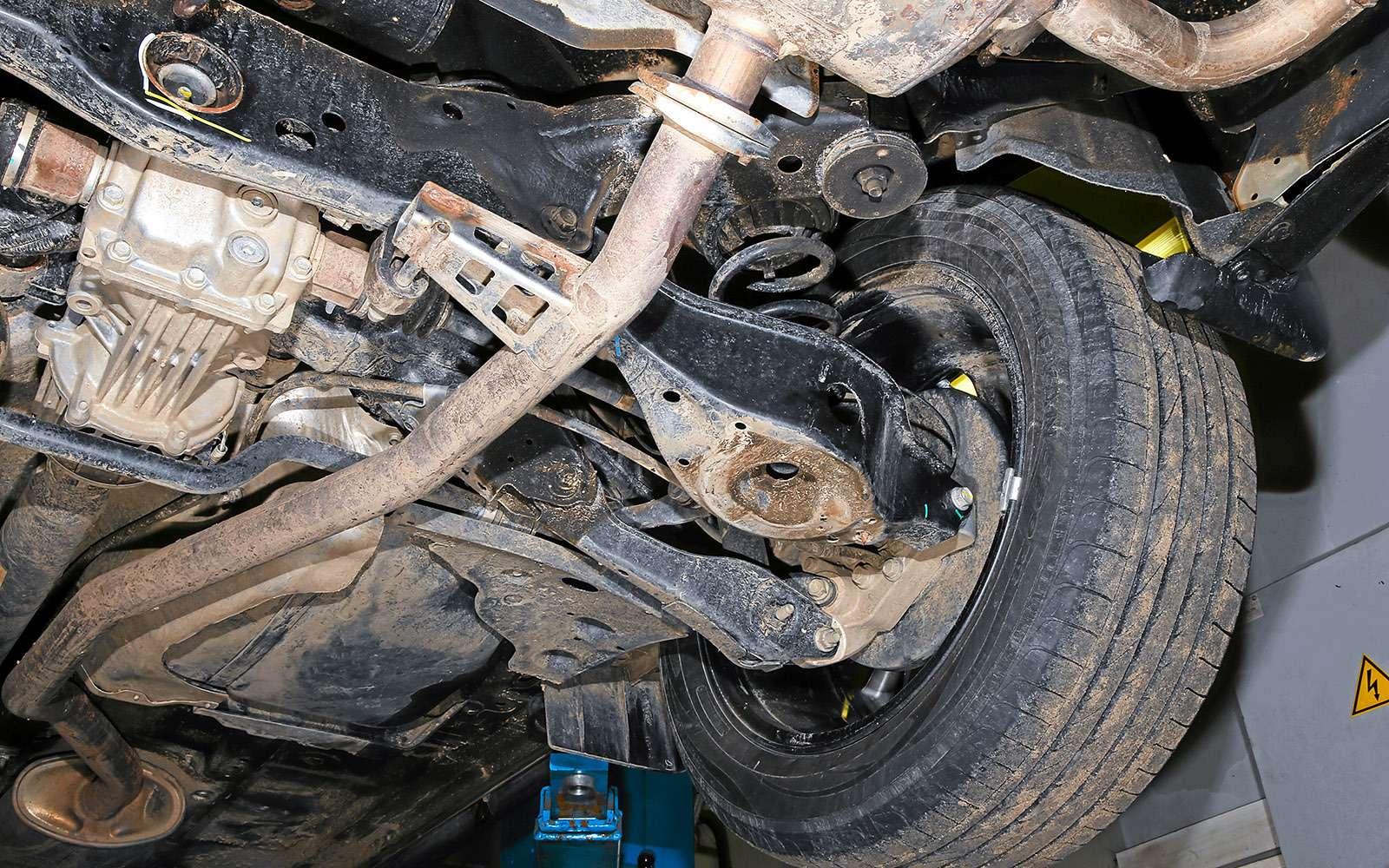 Новый Nissan Murano против конкурентов: длинные рубли— фото 691689