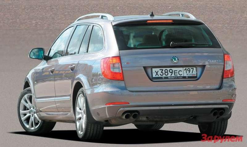 Skoda Superb Combi 2.0TSI DSG Elegance Plus 1349000 руб.