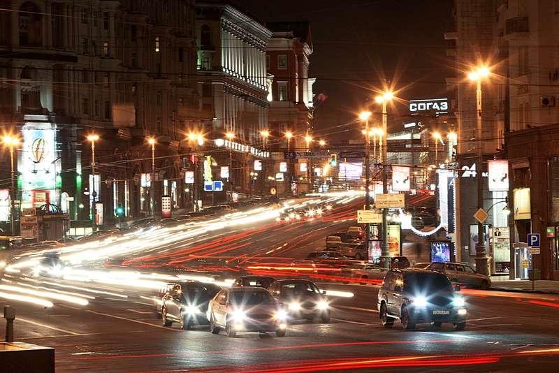 Наулицах вцентре Москвы снизят скорость до40км/ч
