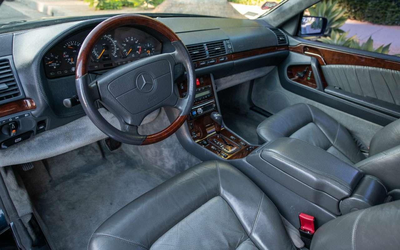 Продается любимый Mercedes Майкла Джордана— фото 1158213