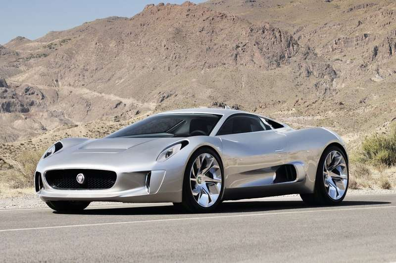 Jaguar C-X75 Concept side-front view_no_copyright