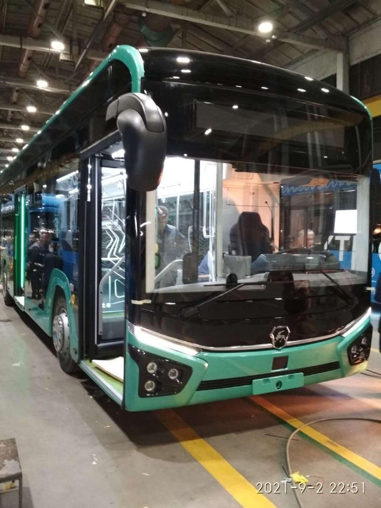 Новый большой электробус отГруппы ГАЗ— первые фото