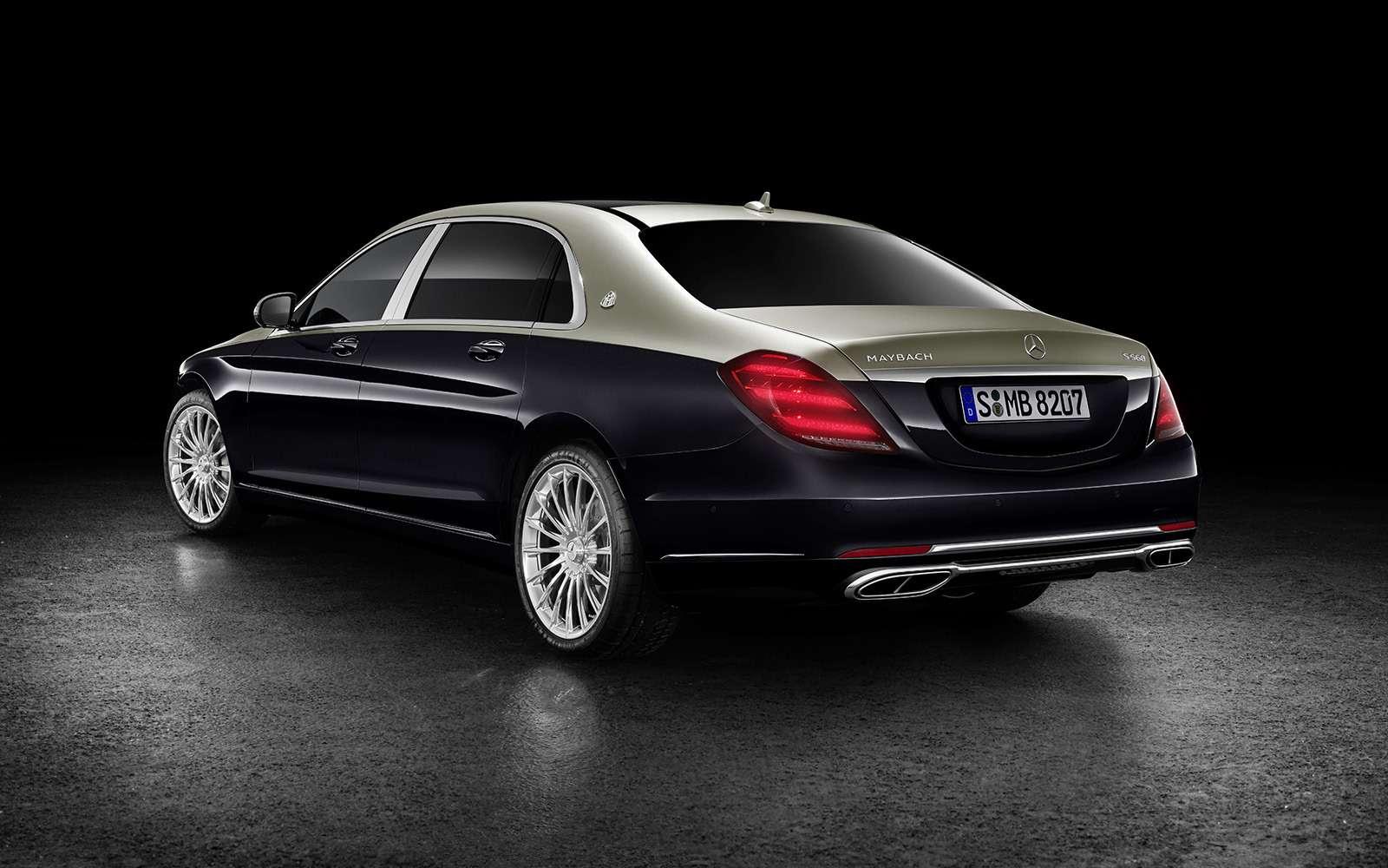 Нарадость олигархам: рассекречен обновленный Mercedes-Maybach S-класса— фото 844553