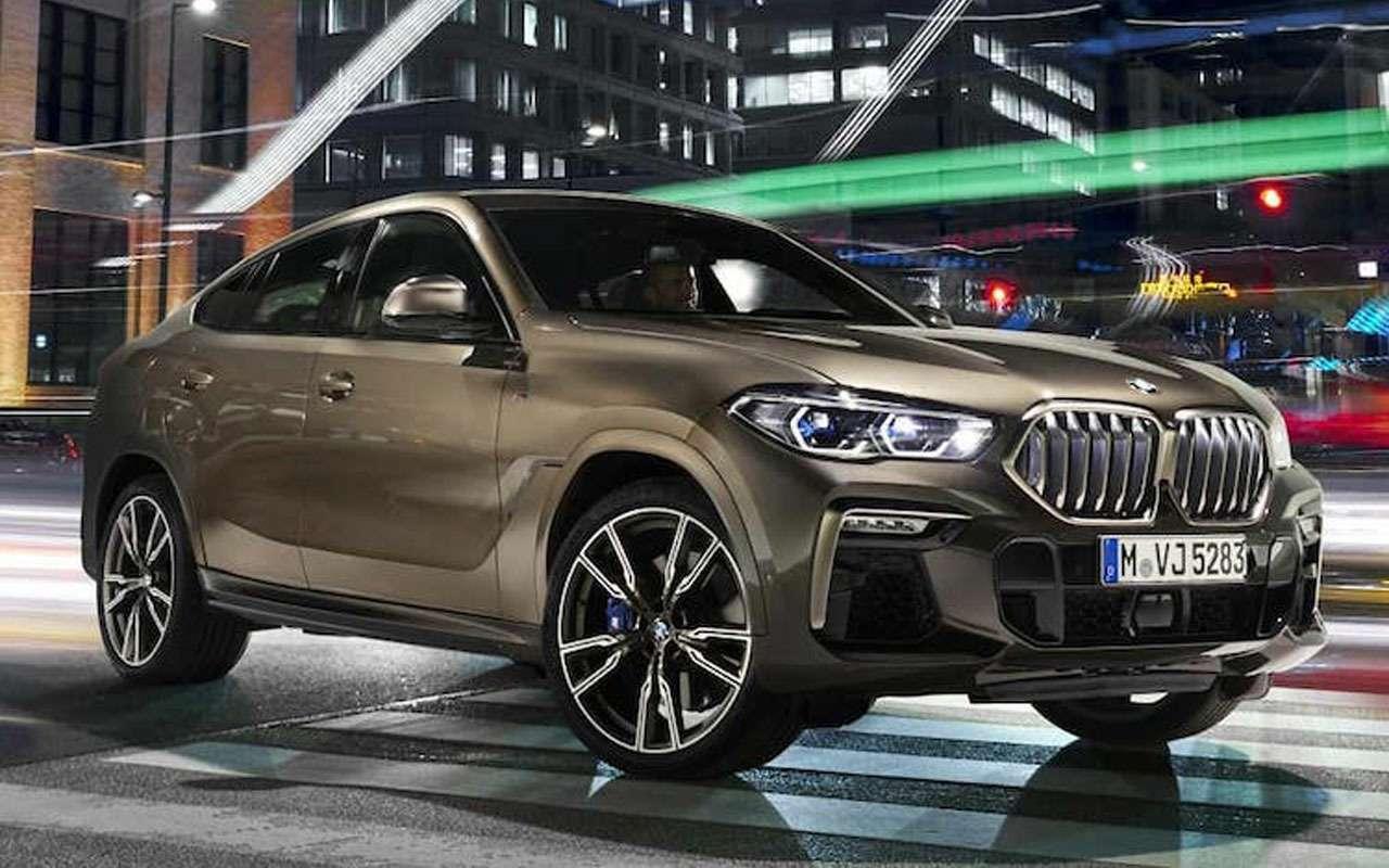 Появились первые фото обновленного BMW X6— фото 983778