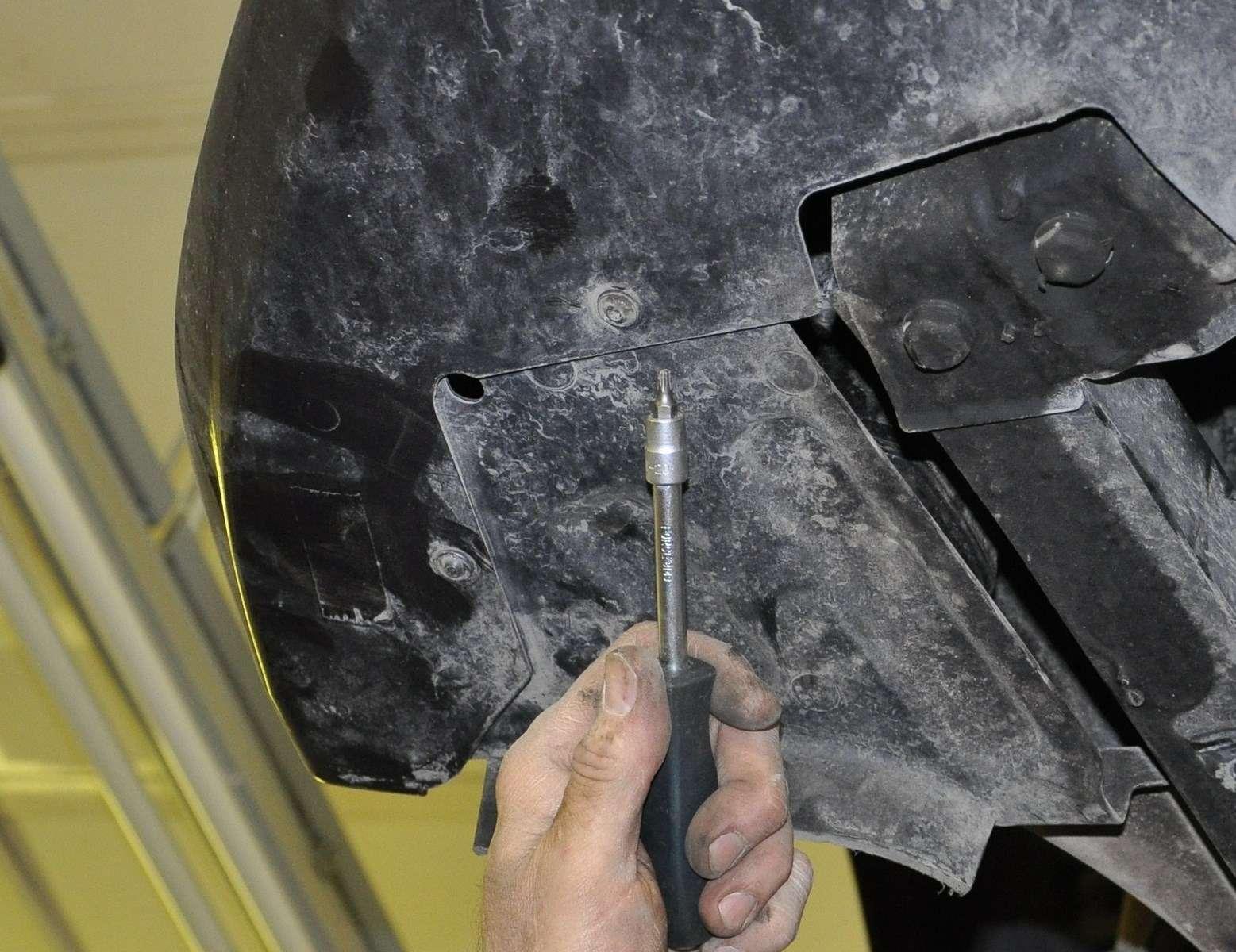 Lada Vesta: проверка изамена ремня привода вспомогательных агрегатов— фото 568588