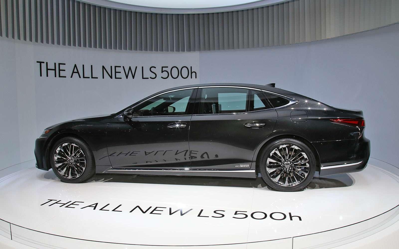 Новый Lexus LSпредстал вЖеневе вгибридном исполнении 500h— фото 718402