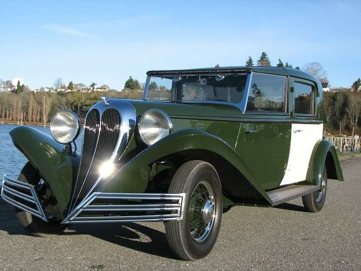 3 1934 Brewster Ford Town Car no copyright