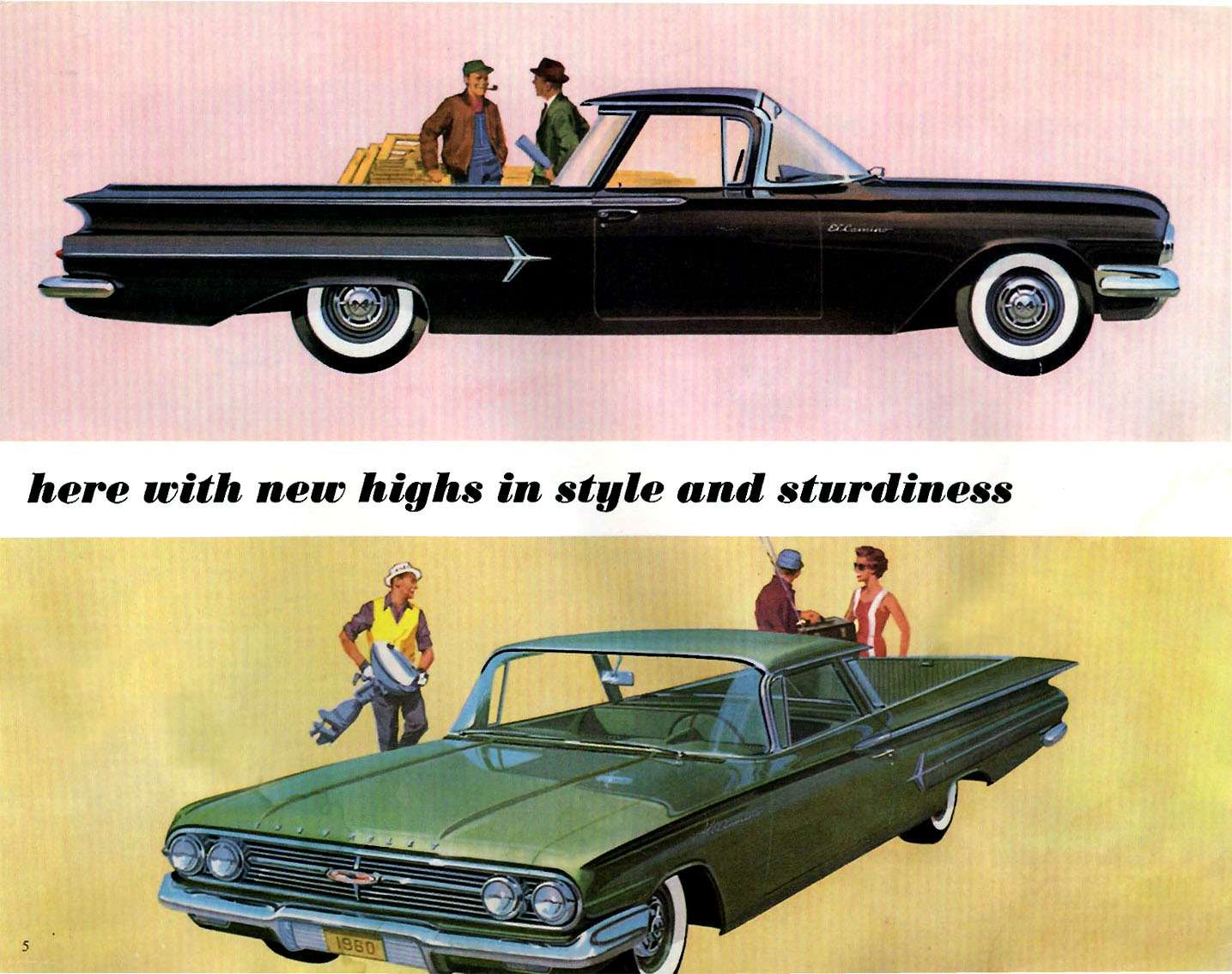 no_copyright_1960 Chevrolet ElCamino and Sedan Delivery-05