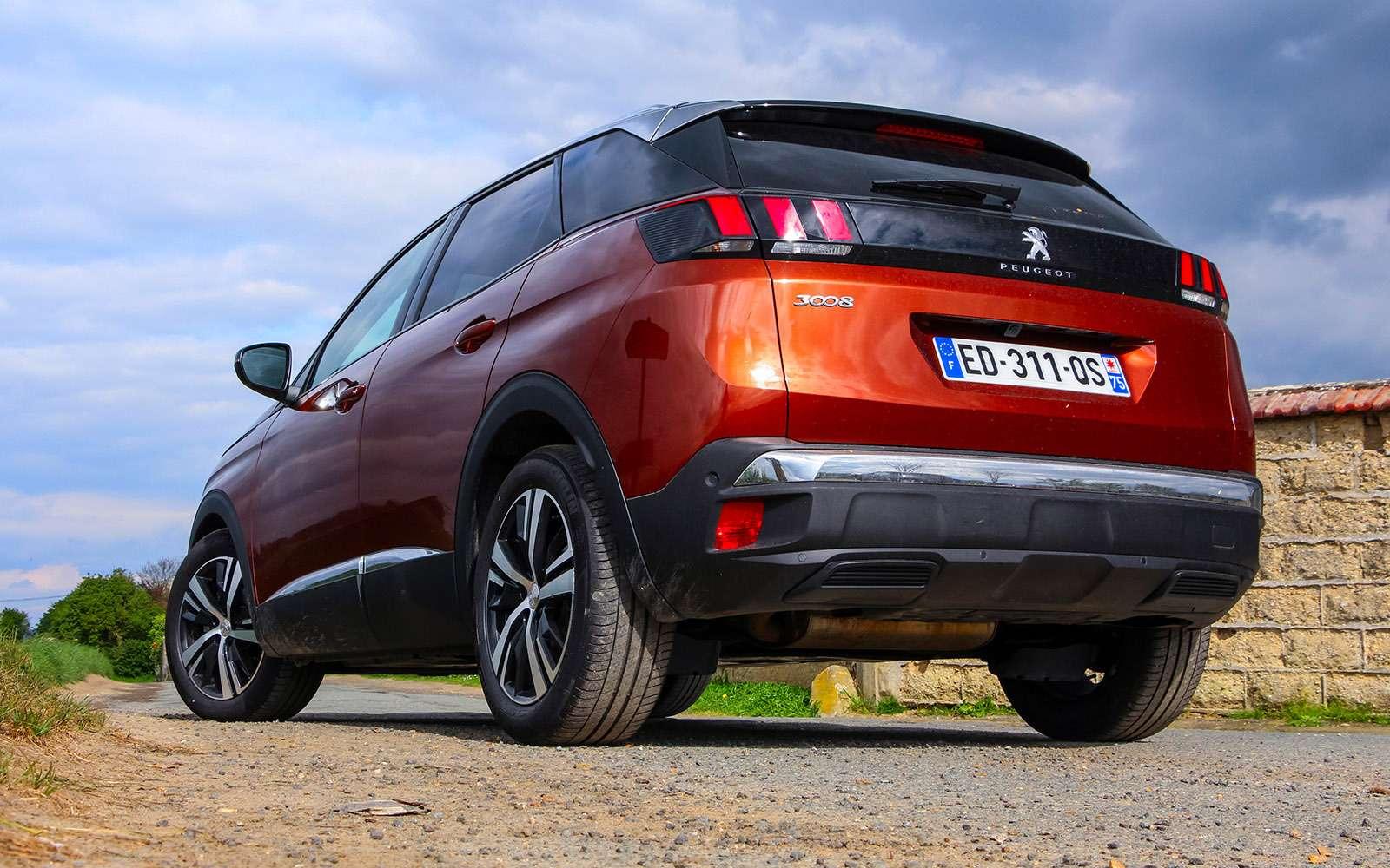 Автомобиль года: тестируем Peugeot 3008— фото 759120