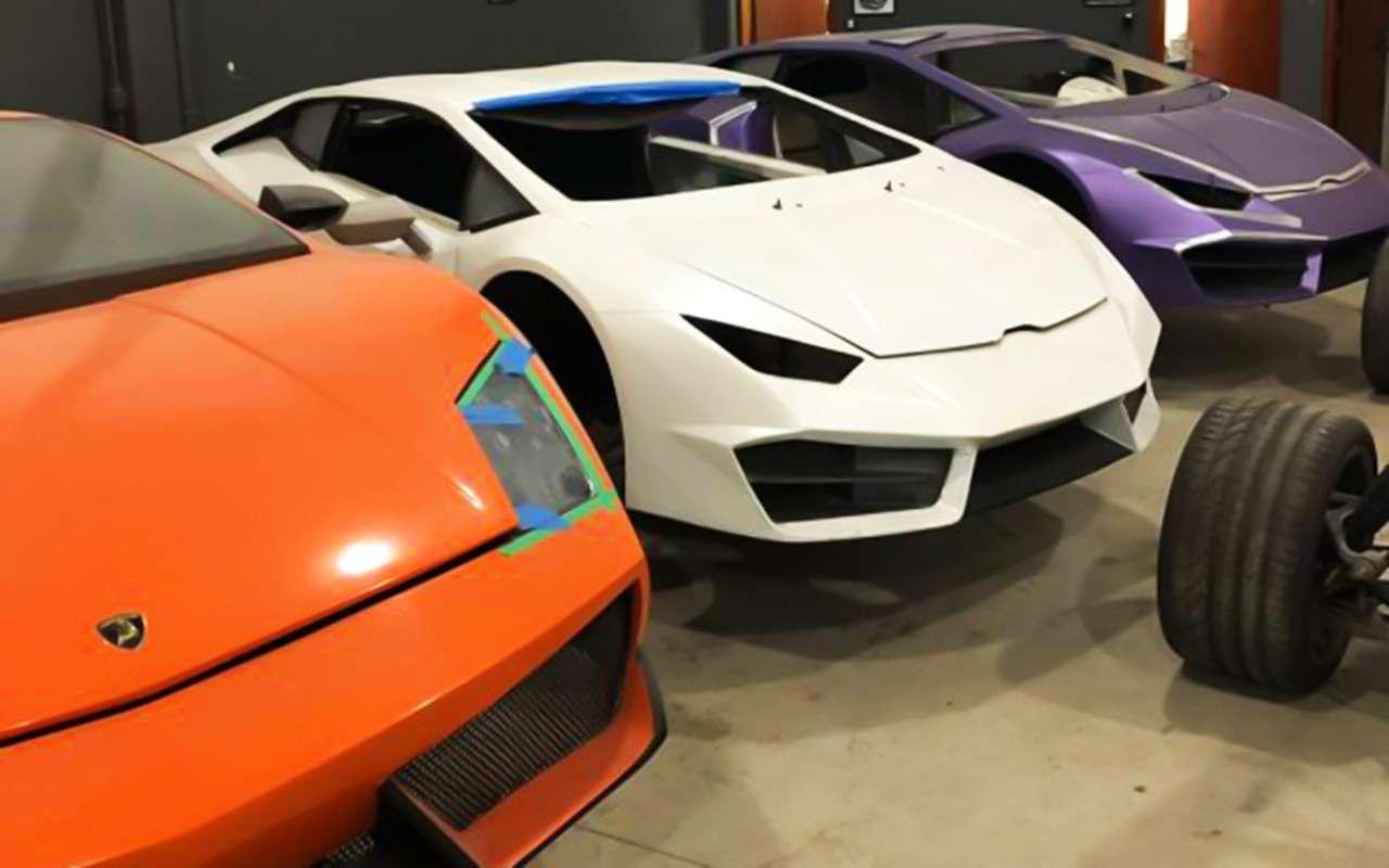 Анекдот недели: пойманы производители фальшивых Ferrari иLamborghini— фото 986460