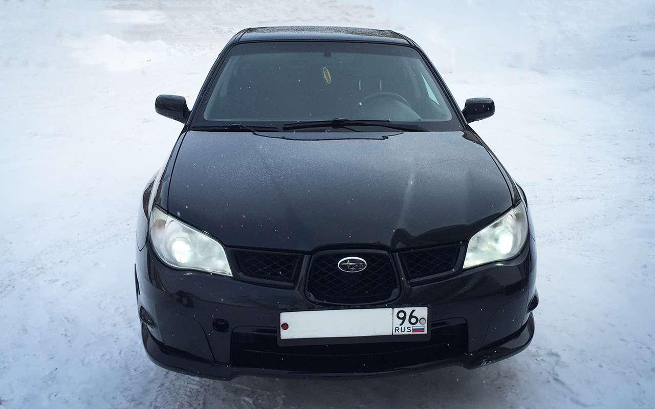 Машина дляэгоиста— зачто ялюблю Subaru Impreza— фото 950503